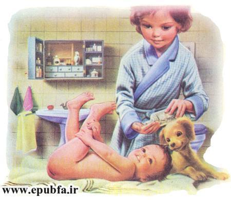 داستان کودکانه مارتین و ژان کوچولو- آموزش پرستاری و نگهداری از بچه ها -ایپابفا