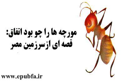 قصه مصری -مورچه ها را چو بود اتحاد- از مجموعه قصه بیایید با هم زندگی کنیم-سایت ایپابفا (4)