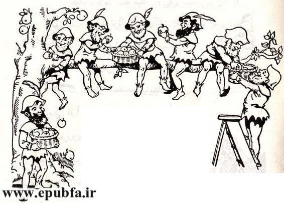 سفید برفی - ایپابفا - کتابهای طلائی