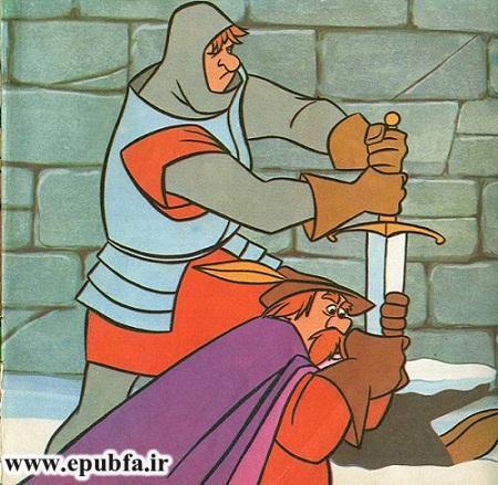 داستان کودکان: شمشیر سحر آمیز کینگ آرتور و پادشاه شدن آرتور - سایت ایپابفا