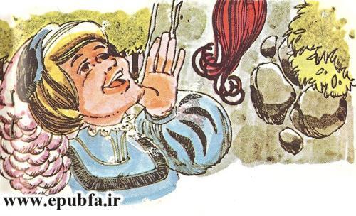 داستان کودکانه راپونزل دختر گیسو کمند زندانی در برج جادوگر (9).jpg