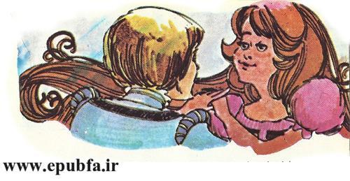 داستان کودکانه راپونزل دختر گیسو کمند زندانی در برج جادوگر (11).jpg