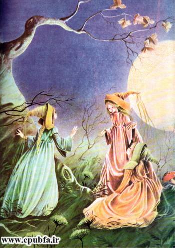 داستان مصور کودکانه شنل قرمزی یا کلاه قرمزی و سه دختر کوچولو در سایت ایپابفا (3).jpg