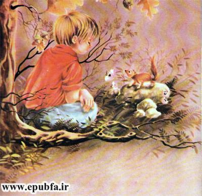 داستان مصور کودکانه شنل قرمزی یا کلاه قرمزی و سه دختر کوچولو در سایت ایپابفا (4).jpg