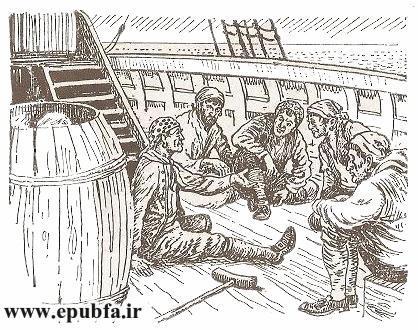 داستان مصور جزیره گنج رابرت لوئی استیونسون و کتاب قصه کودکان در سایت ایپابفا (10).jpg