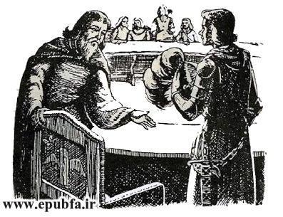 داستان مصور شوالیه های میزگرد و جام مقدس در کتابهای طلائی ایپابفا (2).jpg