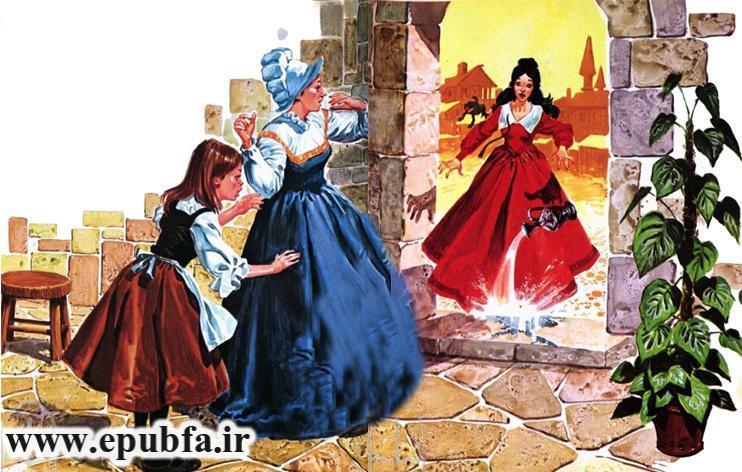 داستان مصور افسانه دو خواهر و یک پری شارل پرو برای کودکان در ایپابفا (9).jpg