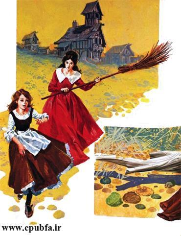 داستان مصور افسانه دو خواهر و یک پری شارل پرو برای کودکان در ایپابفا (11).jpg