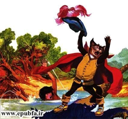 داستان مصور افسانه گربه چکمه پوش شارل پرو برای کودکان در ایپابفا (5).jpg