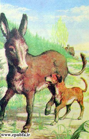 داستان قدیمی و کتاب مصور کودکان چهار یاری صمیمی درباره دوستی حیوانات در سایت ایپابفا (6).jpg