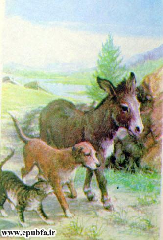 داستان قدیمی و کتاب مصور کودکان چهار یاری صمیمی درباره دوستی حیوانات در سایت ایپابفا (8).jpg