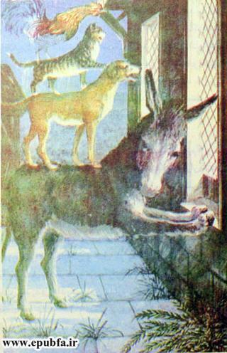 داستان قدیمی و کتاب مصور کودکان چهار یاری صمیمی درباره دوستی حیوانات در سایت ایپابفا (16).jpg