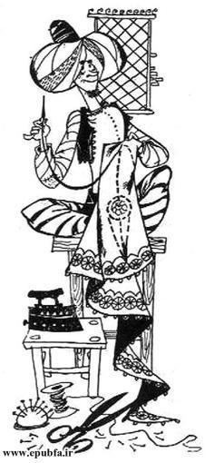 کتاب داستان قدیمی و داستان مصور خیاط کوچولو در مجموعه کتابهای طلائی ایپابفا (5).jpg