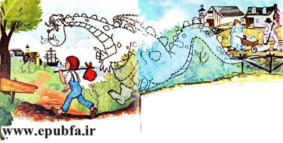 کتاب داستان قدیمی مصور اژدهای پیت برای کودکان ایپابفا (4).jpg