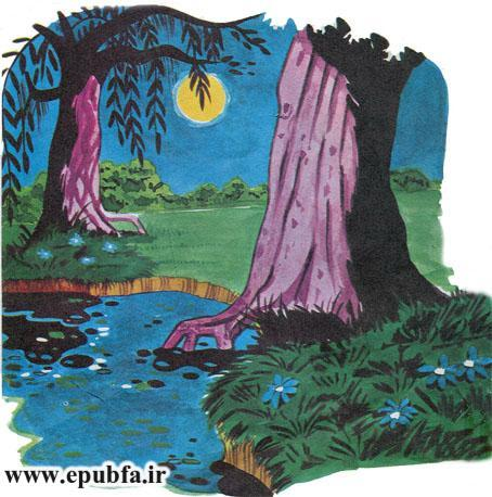 کتاب داستان مصور قدیمی قصه پرواز لک لک و لاک پشت  برای کودکان ایپابفا (3).jpg