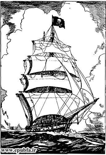 کتاب داستان قدیمی جزیره اسرارآمیز نوشته ژول ورن در کتابهای طلائی ایپابفا  (8).jpg