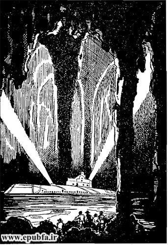 کتاب داستان قدیمی جزیره اسرارآمیز نوشته ژول ورن در کتابهای طلائی ایپابفا  (9).jpg