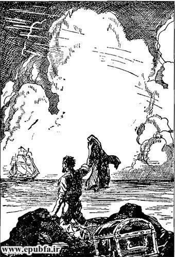 کتاب داستان قدیمی جزیره اسرارآمیز نوشته ژول ورن در کتابهای طلائی ایپابفا  (10).jpg