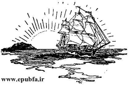 کتاب داستان قدیمی جزیره اسرارآمیز نوشته ژول ورن در کتابهای طلائی ایپابفا  (11).jpg