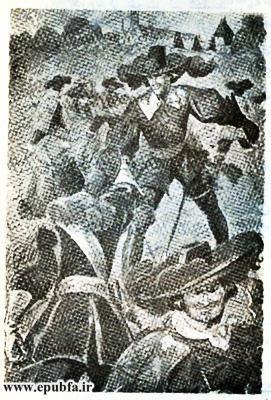 کتاب داستان قدیمی سه تفنگدار الکساندر دوما و کتاب مصور نوجوانان ایپابفا (6).jpg