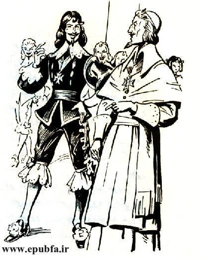 کتاب داستان قدیمی سه تفنگدار الکساندر دوما و کتاب مصور نوجوانان ایپابفا (7).jpg