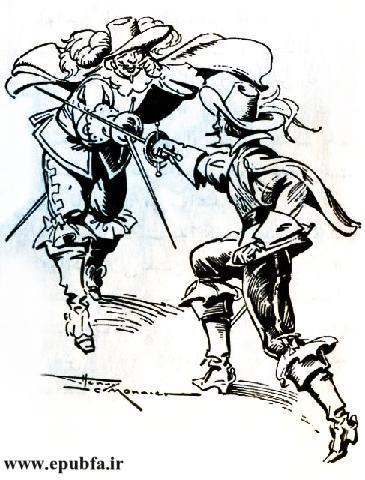 کتاب داستان قدیمی سه تفنگدار الکساندر دوما و کتاب مصور نوجوانان ایپابفا (10).jpg