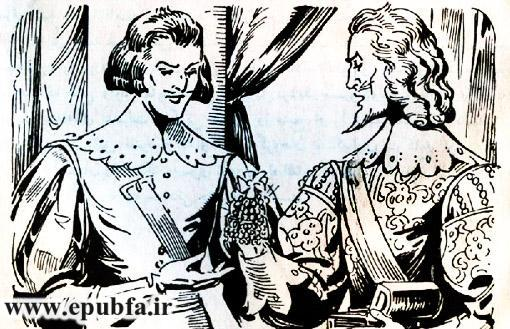 کتاب داستان قدیمی سه تفنگدار الکساندر دوما و کتاب مصور نوجوانان ایپابفا (11).jpg