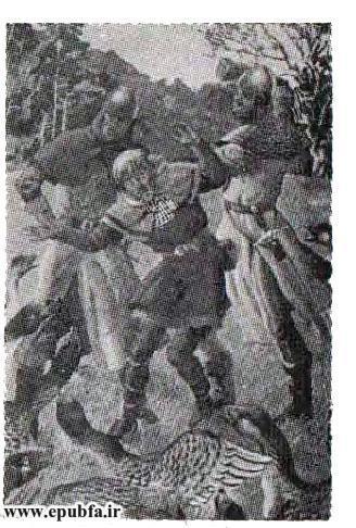 کتاب داستان قدیمی رابین هود و دلاوران جنگل از مجموعه کتابهای طلائی نوجوانان ایپابفا (4).jpg