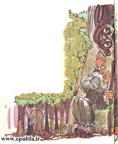 داستان کودکانه راپونزل دختر گیسو کمند زندانی در برج جادوگر (8).jpg
