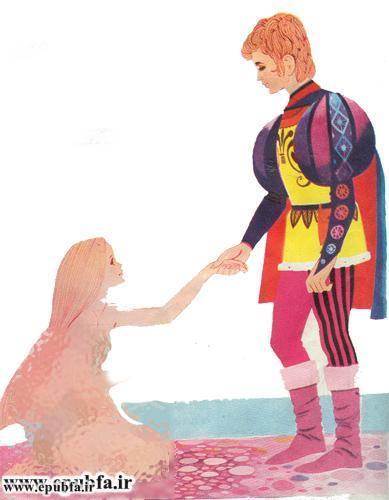 کتاب داستان مصور پری کوچک دریایی هانس کریستیان اندرسن برای نوجوانان ایپابفا (11).jpg