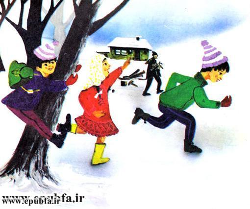 داستان مصور کودکانه آدم برفی و کتاب قصه برای کودکان ایپابفا (3).jpg