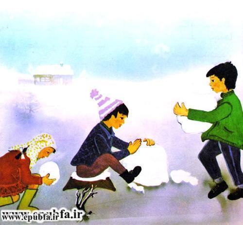 داستان مصور کودکانه آدم برفی و کتاب قصه برای کودکان ایپابفا (4).jpg