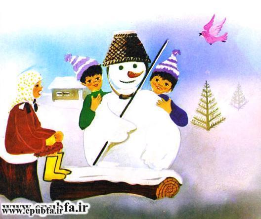 داستان مصور کودکانه آدم برفی و کتاب قصه برای کودکان ایپابفا (5).jpg