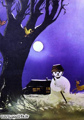 داستان مصور کودکانه آدم برفی و کتاب قصه برای کودکان ایپابفا (7).jpg