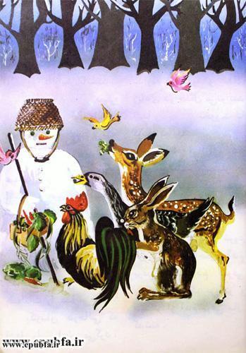 داستان مصور کودکانه آدم برفی و کتاب قصه برای کودکان ایپابفا (8).jpg