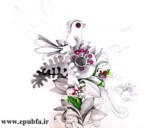 قصه آهو و پرنده ها نوشته نیما یوشیج - کتاب داستان تصویری کودکان و نوجوانان -ایپابفا (5).jpg