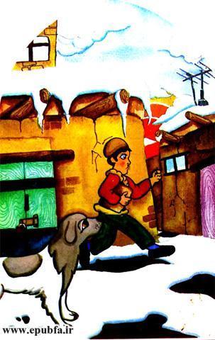 توله سگ گرسنه-داستان تصویری کودکان در مورد آزادی و حقوق حیوانات-کتاب کودکان ایپابفا (3).jpg