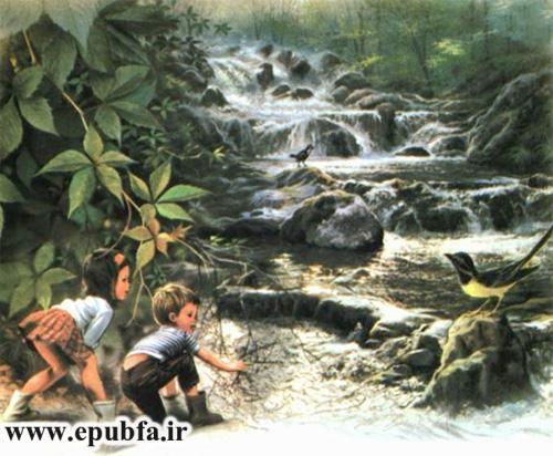 جانی و سوفی در کنار رودخانه-داستان تصویری کودکان-کتاب قصه قدیمی کودکان- ایپابفا (-5).jpg