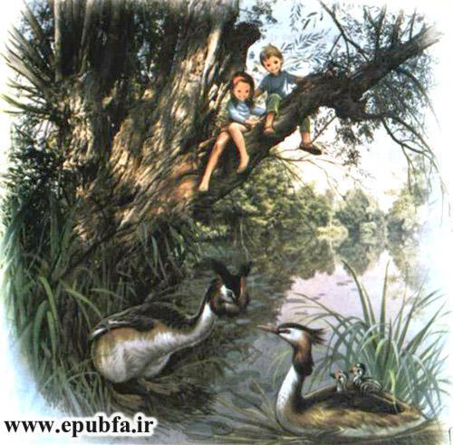 جانی و سوفی در کنار رودخانه-داستان تصویری کودکان-کتاب قصه قدیمی کودکان- ایپابفا (9).jpg