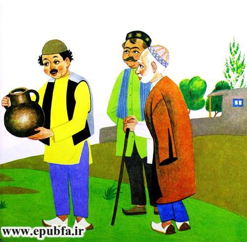 قصه کودکانه دختر خیالباف نوشته ازوپ یونانی-قصه تصویری کودکان ایپابفا8