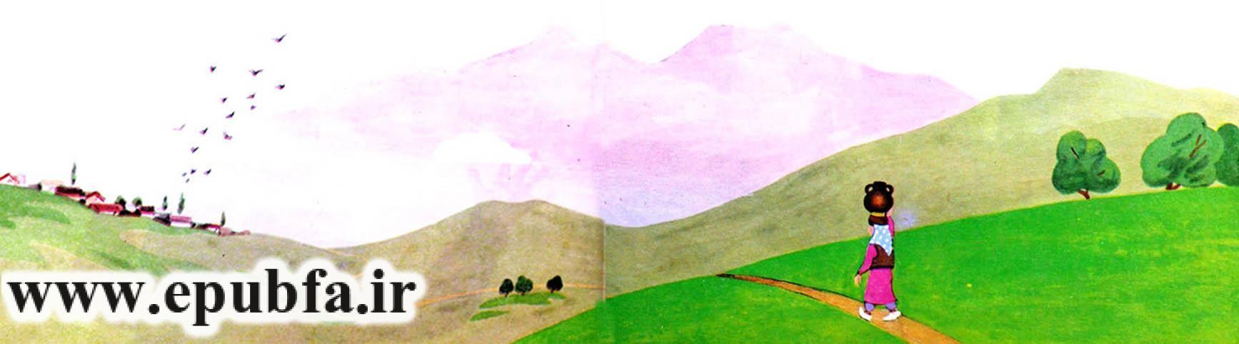 قصه کودکانه دختر خیالباف نوشته ازوپ یونانی-قصه تصویری کودکان ایپابفا10