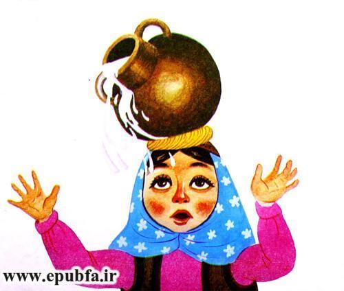 قصه کودکانه دختر خیالباف نوشته ازوپ یونانی-قصه تصویری کودکان ایپابفا11