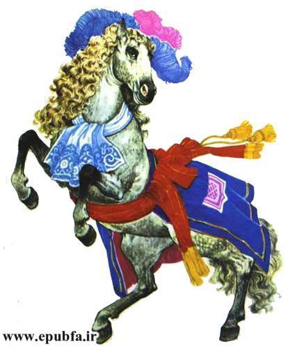 افسانه های لافونتن- الاغ و اسب -داستان تصویری آموزنده برای کودکان و نوجوانان ایپابفا