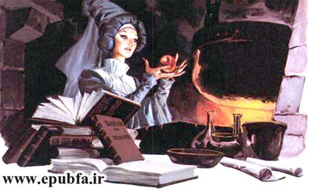 قصه تصویری سفیدبرفی و هفت کوتوله-قصه های برادران گریم-ایپابفا سایت قصه و داستان6