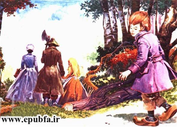 هانسل و گرتل-داستان تصویری کودکان-ایپابفا سایت قصه و داستان 4