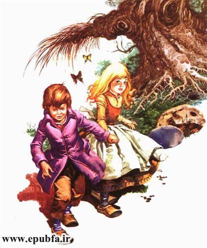 هانسل و گرتل-داستان تصویری کودکان-ایپابفا سایت قصه و داستان 5