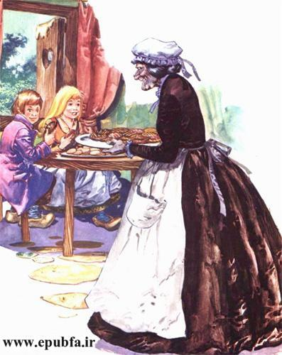 هانسل و گرتل-داستان تصویری کودکان-ایپابفا سایت قصه و داستان 10