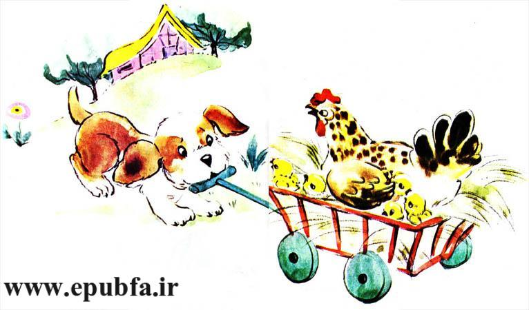 قصه کودکانه حنایی و جوجههایش-کتاب قصه کودکانه-ایپابفا قصه و داستان11