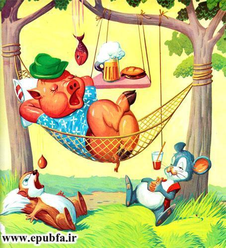 حیوانات در سرزمین شانگریلا-کتاب قصه تصویری کودکان-ایپابفا 8