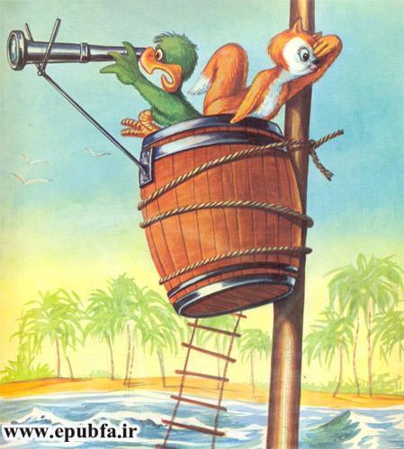 قصه کودکانه: حیوانات در دریا-کتاب قصه کودکانه-ایپابفا قصه و داستان6